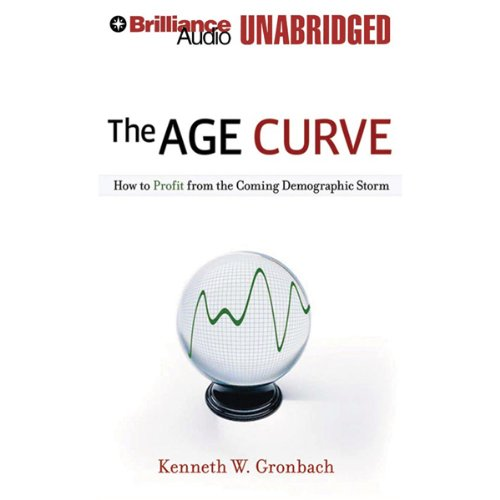 The Age Curve audiobook cover art