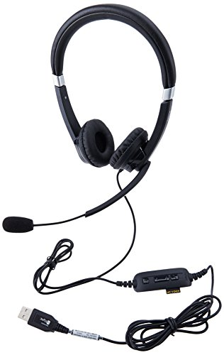 Jabra UC VOICE 550 MS Duo Lync Optimized Corded Headset for Softphone Photo #3