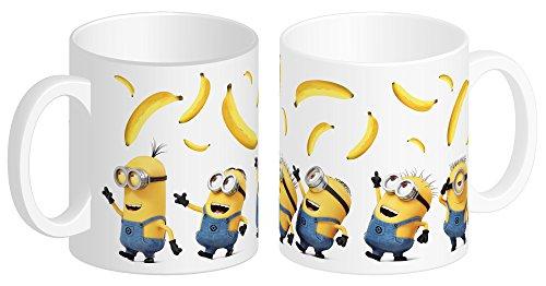 DESPICABLE ME MINIONS 93734 Minions Keramiktasse DM3 Banana in Geschenkpackung, 12 x 9 x 10 cm, 320 ml