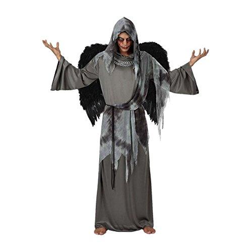 Atosa - 14936 - Costume - Déguisement d'ange Noir - Adulte - T-2