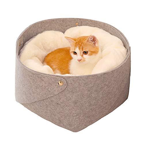 Cama for perros, mascotas Kitten Sleeping Dog Nido cama caliente del animal doméstico, de la litera extraíble y lavable cuatro estaciones universal gato del animal doméstico, for el gato Y Perrito rec