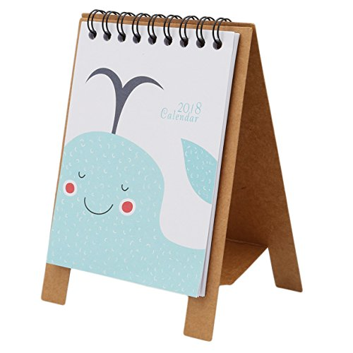 Lalang tafelkalender voor 2018: mini-maandkalender Wal