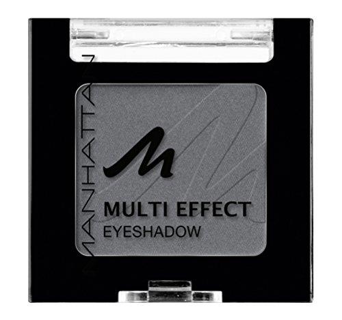 Manhattan Multi Effect Eyeshadow – Grauer, matter Lidschatten in handlicher Dose, farbintensiv und...