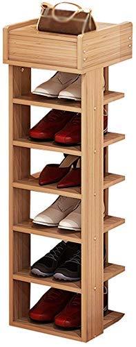 FGVBC Estante para Zapatos de Porche Ensamblaje de Estante multifunción de 6 Niveles Estantes de Almacenamiento a Prueba de Polvo Estante de Soporte para Pasillo Artículos para el hogar