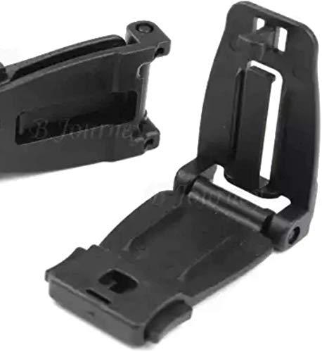 CHANG2 Stk, Auto Baby Sitz Sicherheitsgurt Brustgurt Clip Durable Black Safe Buckle Lock Gürtel Für Kinder Kinder, Schwarz, Universal