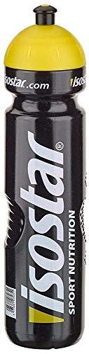 Isostar Sport Trinkflasche 1000 ml - BPA-frei - Wasserflasche für Laufen, Radfahren, Gym, Wandern - Praktischer und auslaufsicherer Push & Pull Verschluss - 1er Pack (1 x 71 g)