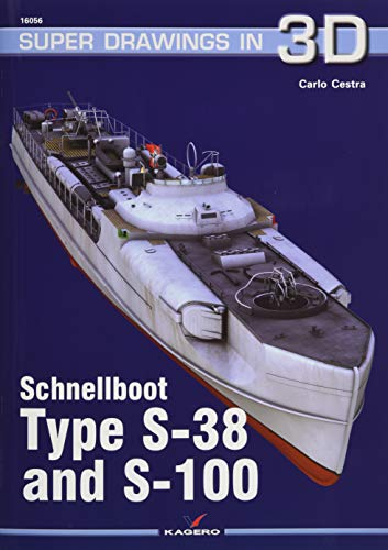 Schnellboot Type S-38 and S-100 (Super Drawings in 3D)