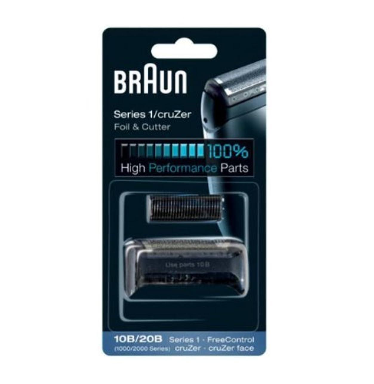 コンバーチブル本振幅Braun Replacement Foil & Cutter - 10B, Series 1,FreeControl - 1000 Series by Braun [並行輸入品]