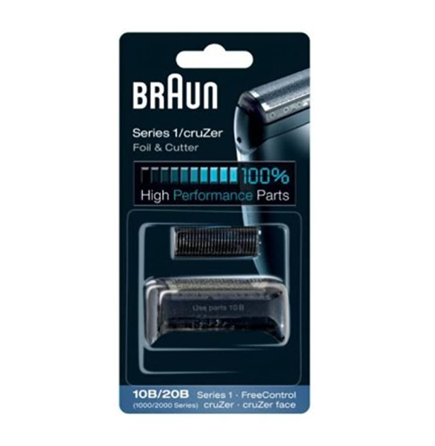 どれ衝突飢えBraun Replacement Foil & Cutter - 10B, Series 1,FreeControl - 1000 Series by Braun [並行輸入品]