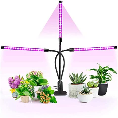 TruBlu LED Grow Lights for Indoor Plants with Red Blue Spectrum Adjustable Light Levels Dimmable product image