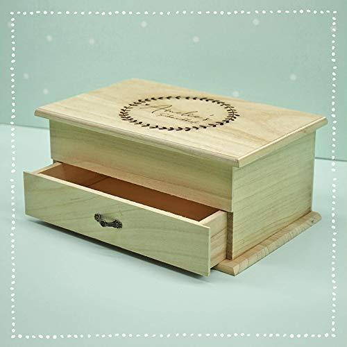 Personalisierte Schmuckkästchen mit Namen Schmuck-kiste für Kinder Geschenkbox Geschenkidee zu Ostern Mädchen Weihnachten Geburtstagsgeschenk Einschulung Box Erinnerungsbox Aufbewahrungsbox