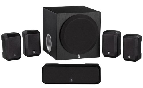 Yamaha 5.1-Channel Advanced Active Servo Technology Complete 6 Piece Home Theater Speaker Package - Designed for HTR-3064 - HTR-4064 & HTR-4065...