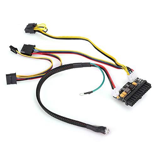 Vbestlife Módulo de Fuente de alimentación de 150W, 24Pin ATX 12V DC Entrada 150W Placa de módulo de Interruptor de Fuente de alimentación de Salida para Mini/ITX PC/POS