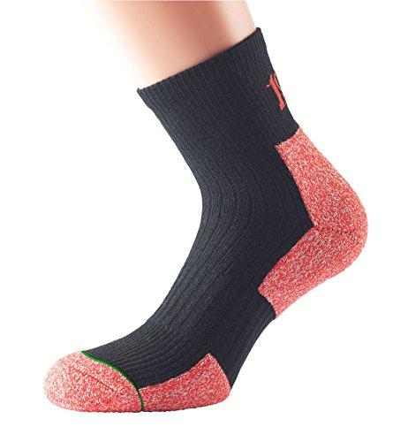 1000 Mile Herren Walking Ultra Performance Socks, Schwarz, XL