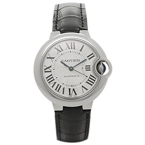 (カルティエ) Cartier カルティエ 時計 レディース CARTIER W6920085 バロンブルー SS 33mm 自動巻き レディース腕時計ウォッチ シルバー/ブラック [並行輸入品]