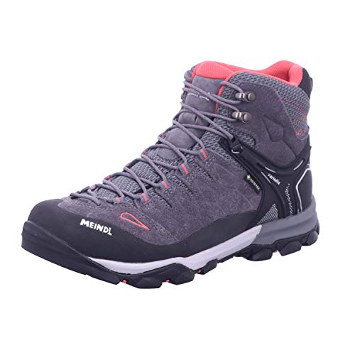 Meindl Damen Wanderstiefel Tereno Lady Mid GTX anthrazit/orange - 5,5/39