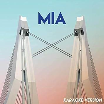 MIA (Karaoke Version)