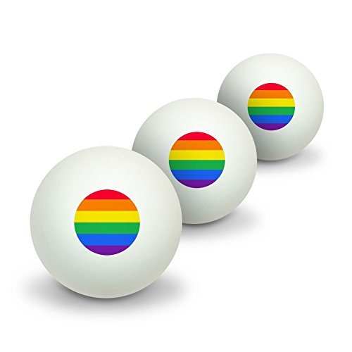 Why Should You Buy GRAPHICS & MORE Rainbow Pride Gay Lesbian Contemporary Novelty Table Tennis Ping ...