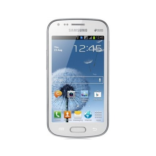 Samsung Galaxy S Duos GT-S7562 4 GB weiß – Smartphone (Dual SIM, Android, Edge, GSM, HSDPA, Stange, Qualcomm)