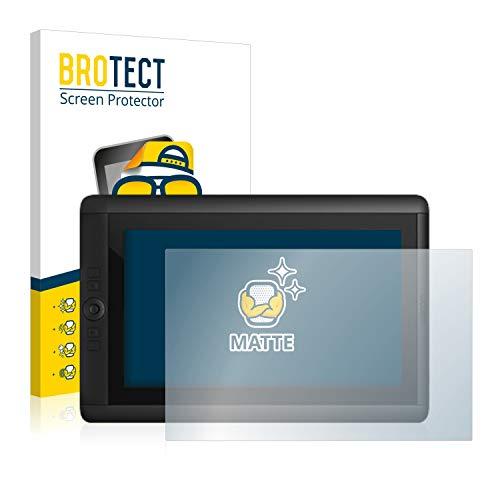 BROTECT Entspiegelungs-Schutzfolie kompatibel mit Wacom Cintiq 13 HD Displayschutz-Folie Matt, Anti-Reflex, Anti-Fingerprint