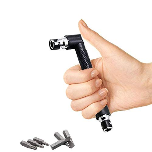 ArtisanShow Dual Head L-shaped Mini Socket Wrench 1/4