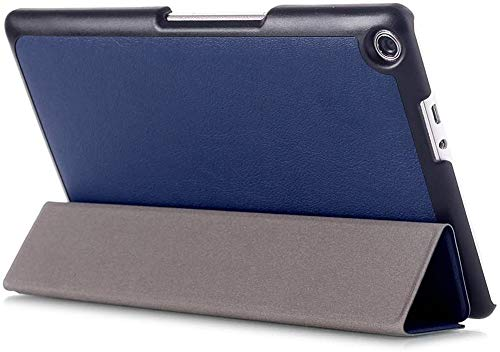 Kepuch Custer Hülle für ASUS Zenpad 8.0 Z380KL Z380KNL,Smart PU-Leder Hüllen Schutzhülle Tasche Hülle Cover für ASUS Zenpad 8.0 Z380KL Z380KNL - Blau