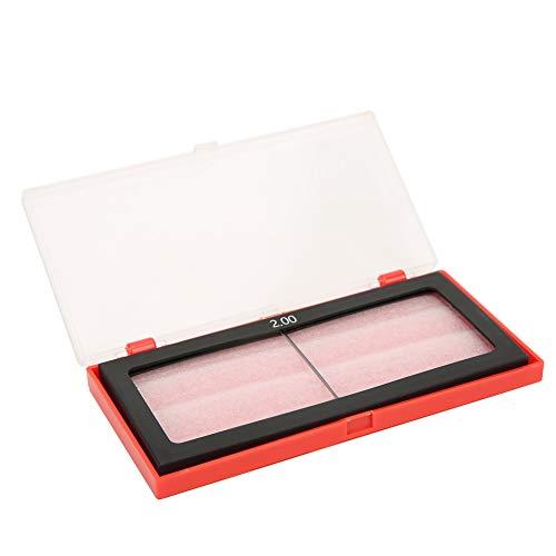 Lente de lupa de soldadura, Lente de lupa de vidrio de soldadura práctica, Antióxido Razonable para soldadura por arco(2.0)