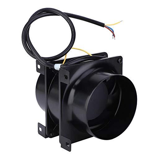 Ventilador de conducto en línea, controlador de humedad de temperatura silencioso 0.12A con aluminio y hierro 18W para el taller Biblioteca Cinema AC 200-240V