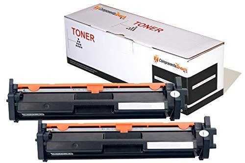 CVT-CompraVentaToner - Pack 2X Toner Compatibles HP CF217A 17A (con Chip) para HP Laserjet Pro M102w / MFP M130nw / M102a / MFP M130a / MFP M130fn / MFP M130fw