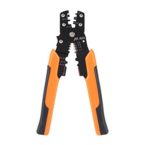 185mm Multifunzionale Pinze Spelafili a Cavo Cable Wire Stripper Clamping Cutting Elettricista Utensile a Mano, Taglio e Crimpatura per Cavi