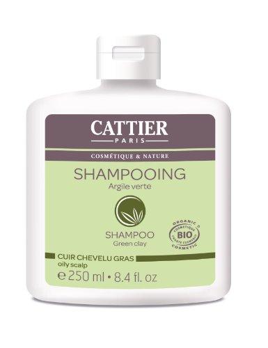 Cattier Champ Cuero cabelludo graso con arcilla verde - 250 ml paquete de 2