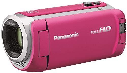 パナソニック HDビデオカメラ 64GB ワイプ撮り 高倍率90倍ズーム ピンク HC-W590M-P