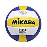 MIKASA VSO-2000 Ballon de Volley Mixte Adulte, Bleu