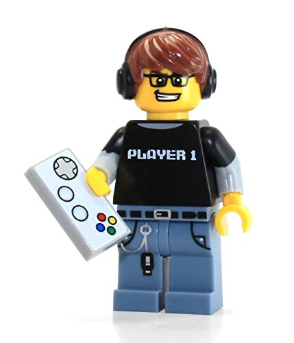 LEGO Series 12 Collectible Minifigure 71007 - Video Game Guy Gamer