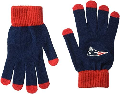 New England Patriots Solid Knit Glove product image