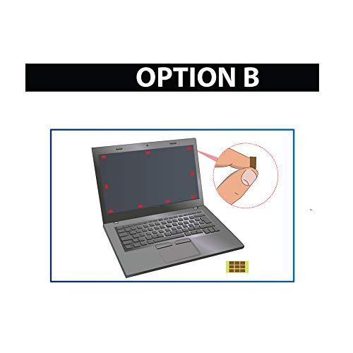 Thorani Laptop Notebook Privacy Filter Blickschutz Folie Sichtschutzfolie - 15.6 Zoll 16:9 Bildschirm