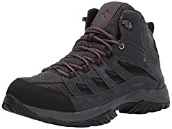 in budget affordable Columbia Crestwood Mid Men's Waterproof Trekking Boots, Breathable, Excellent Traction, 11 Standard…