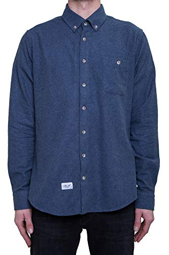 Reell Brushed Shirt AW17, Blue L Artikel-Nr.1302-031 - 02-004