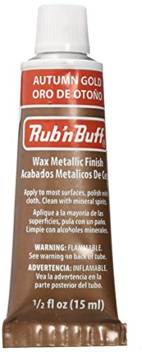 AMACO Rub'N Buff - Cera para Acabados metálicos Dorados