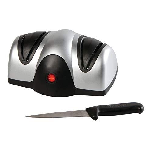 Elektrischer Messerschleifer Scherenschleifer Schleifen + Polieren