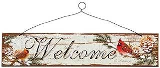 Cardinal Welcome Sign