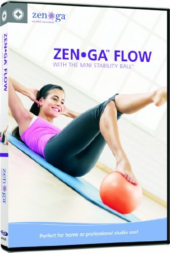 Stott Pilates Zen Ga Flow DVD with the Mini Stability Ball by merrithew corporation