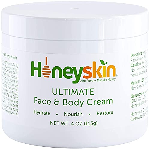 Hydrating Face Moisturizer for Women and Men with Manuka Honey and...