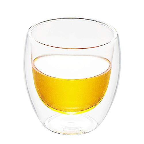 DIF 250/350/450ml wijnglas Melk Koffie Dubbele Laag Isolatie Water Glas Beker Drinkware whisky glas