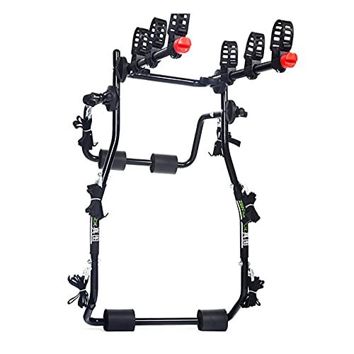 HYDT Portabicicletas Trasero Portabicicletas Plegable Portátil para Maletero de Coche 1/2/3 Bicicletas,...