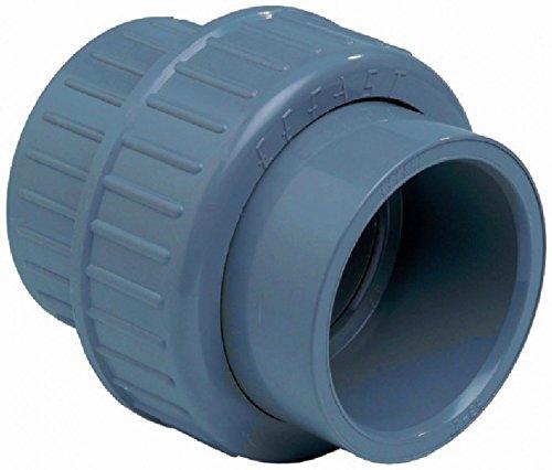 PVC 3/3 Raccord (10–110 mm) – Pression Fitting à coller 40mm (1.5 Zoll)