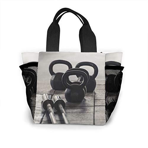 I Need To Go Gym Bolso de mano para mujer, moda bolso de la compra, reutilizable, pequeño bolso de mano
