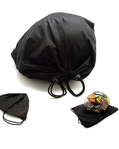 kemimoto Helmet Backpack, Snowmobile Helmet Bag Multi-Purpose Drawstring Bag, Anti-dust, Lightweight Storage Bag for Motorcycle Sport Gym Training Hiking Travel Bags