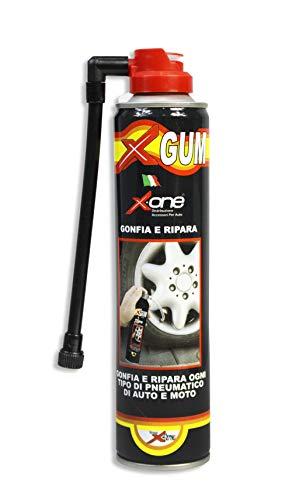 Vetrineinrete® Bomboletta Spray ripara Pneumatico per Auto e Moto Sigilla Fori su penumatici 300 ml A112
