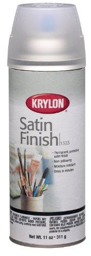 Krylon K01323000 Gallery Series Artist and Clear Coatings Aerosol, 11-Ounce, Satin Finish